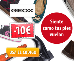Descuento en <strong>Geox</strong>